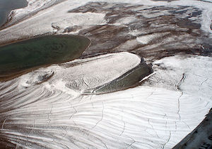 Permafrost in High Arctic by Brocken Inaglory via Wikimedia Commons, Creative Co