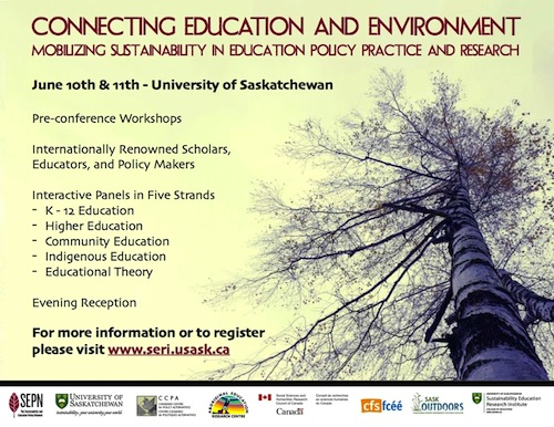 Connecting Education and Environment Conference Poster