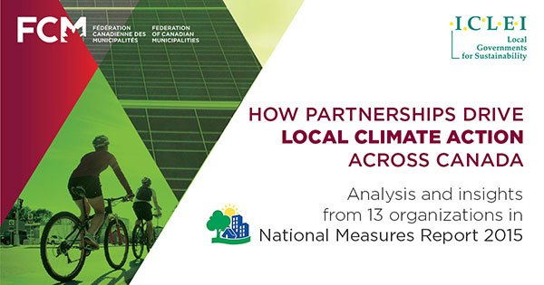 National Measures Report 2015 promotional image from FCM
