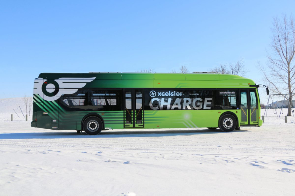 Montreal just awarded Winnipeg-based company the largest ever battery-electric bus contract in Canada!