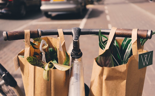 The City of Victoria has officially banned plastic bags.