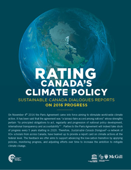 Rating Canada's Climate Policy